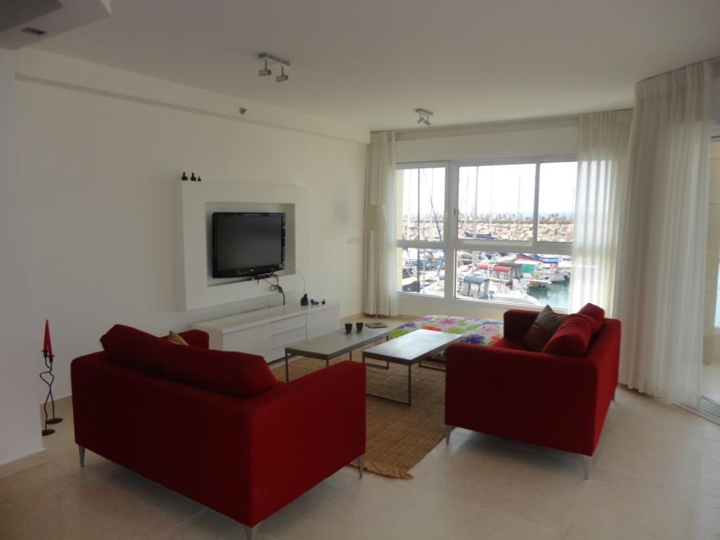 הוראות חדשות דירת 4 חדרים להשכרה לתקופה קצרה בהרצליה פיתוח - Vacation rental 3 RK-34