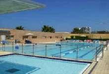 Swimming pool in the residence OKEANOS BAMARINA